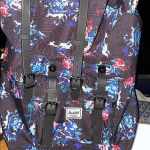 Herschel Supply Co Retreat Navy Blue Backpack Bag